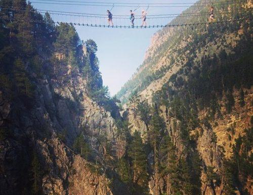 A San Lorenzo sul ponte tibetano!