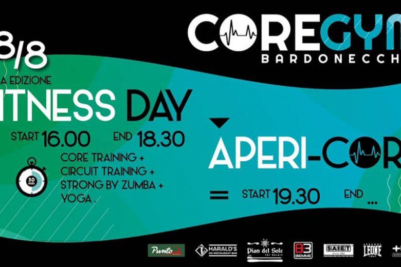 18 Agosto. Fitness Day a Bardonecchia